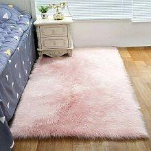 RAILONCH Shaggy Living Room Carpet Tapis lavable