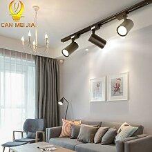 Rails D'éclairage Led Lampe 220V COB PISTE