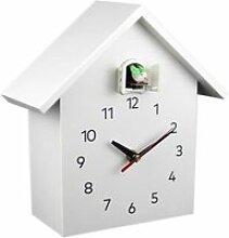 Rain Coucou Quartz Horloge Murale Moderne Oiseau