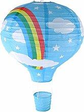 Rainbow Lampe de Plafond Montgolfière