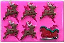 raîneau Ride rennes Rudolph de Noël Moule Moule