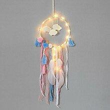 Rameng Plume Dream Catcher LED Guirlande Lumineuse