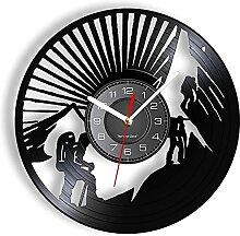 Randonnée Horloge Murale grimpeur Disque Vinyle