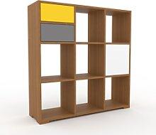 Range CD - Chêne, design, meuble pour vinyles,