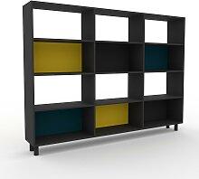 Range CD - Graphite, design contemporain, meuble