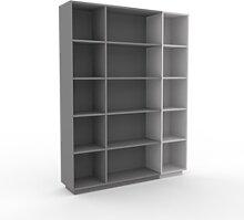 Range CD - Gris, design contemporain, meuble pour