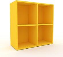 Range CD - Jaune, design contemporain, meuble pour