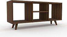 Range CD - Noyer, design contemporain, meuble pour