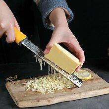 Râpe à citron en acier inoxydable, couteau à