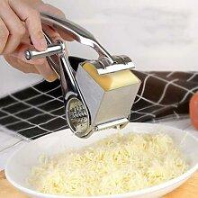 Râpe à fromage rotative, couteau à beurre