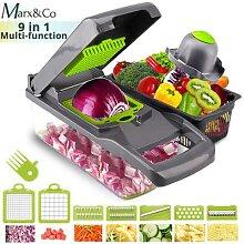 Râpe à légumes, éplucheur de carottes, pommes