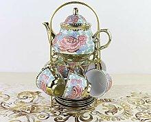 Ray-Velocity Home Service à thé en Porcelaine