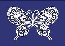 Rayher 4502900 Schmetterling DIN A4 1SCHABLONE +