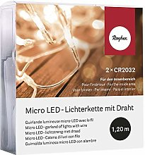 Rayher 69136000Micro Guirlande Lumineuse LED,