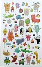 Rayher Sticker Mural Zoo.