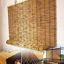 RCBDBSM Stores à Enroulement en Bambou