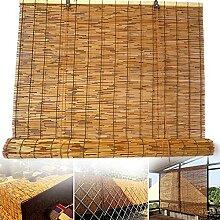 RCBDBSM Stores en Bambou de Roseau, Rideau de