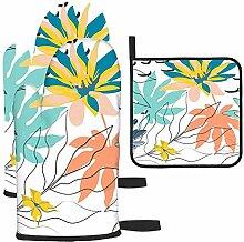Rcdeey Décorations florales pour textiles - Gants