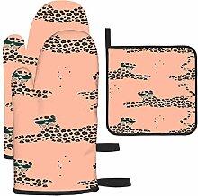 Rcdeey Joli motif tropical d'été avec gant
