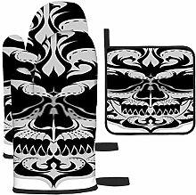 Rcdeey Les gants de cuisine décoratifs en forme