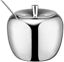 Realand – sucrier à pommes en acier inoxydable