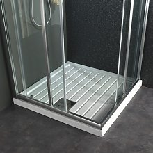 Receveur de douche 80x80 à poser carré en grés