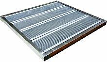 Receveur de douche solaire en acier - Gardiun