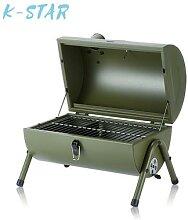 Réchaud à charbon épais pour Barbecue, ensemble