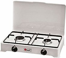 Réchaud de table Parker 2 feux alimentation gaz