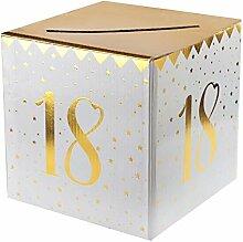 REF/6186-1 Tirelire/Urne anniversaire blanche et