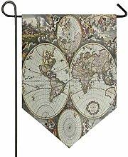 REFFW Jardin Drapeau Chefs Terre Ancienne Carte du