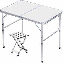 Réglable En Hauteur Alliage D'aluminium Table