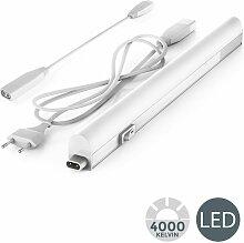 Réglette LED 230V 4W barre lumineuse éclairage