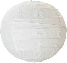 REGOLIT (abat-jour, blanc/fait à la main, 45 cm)