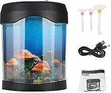Rehomy Lampe de bureau USB pour aquarium avec