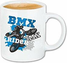 Reifen-Markt Tasse à café BMX Velo Rider