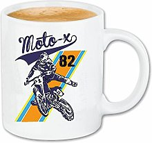 Reifen-Markt Tasse à café Moto X Extreme Sports