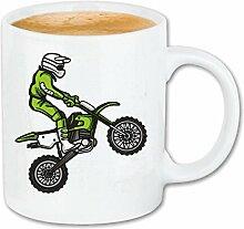 Reifen-Markt Tasse à café Motocross Silhouette