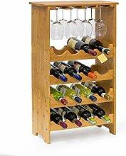 Relaxdays 10013871 Casier à bouteilles de vin