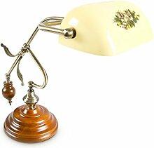 Relaxdays-10016610 Lampe de Bureau Banquier avec