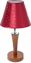 Relaxdays 10018917 Lampe de table avec socle en
