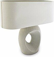 Relaxdays 10019056 Lampe de table Ceramy Lampe de