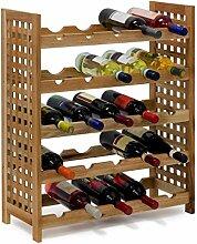 Relaxdays 10019278 Étagère à vin casier à vin