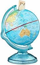 Relaxdays 10021013 Tirelire globe boîte pour