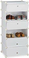 Relaxdays 10021962 Meuble chaussures fermé