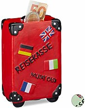 Relaxdays 10022334_47 Boîte épargnes Vacances,