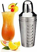 Relaxdays 10023452 Shaker Cocktails, mélangeur