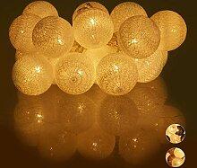 Relaxdays 10024371_49 Guirlande Lumineuse LED, 20