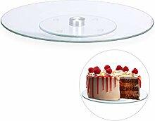 Relaxdays 10026301 Plateau tournant 360° gâteaux