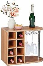 Relaxdays 10028073_93 Boîte de Rangement vin,